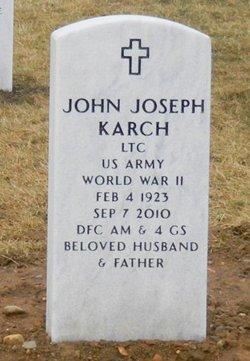 Dr John Joseph Karch