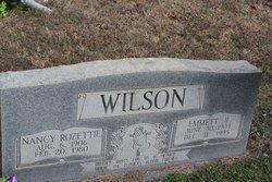 Mrs Nancy Rozettie <I>Russell</I> Wilson