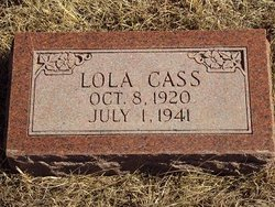 Lola <I>McConnell</I> Cass