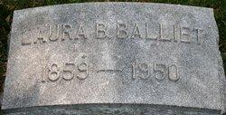Laura L. <I>Bond</I> Balliet