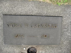 Viola <I>Harrington</I> Crenshaw
