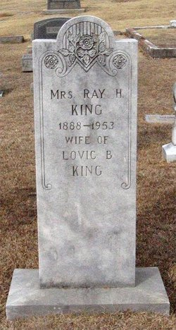 Ray Cleo <I>Holland</I> King
