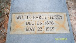 Willie <I>Barge</I> Terry