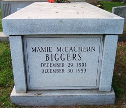 Mamie <I>McEachern</I> Biggers