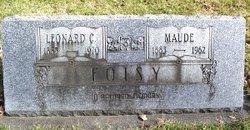 "Maude M. ""Addie"" <I>Rupert</I> Foisy"