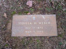 Sybilla <I>Haass</I> Weber