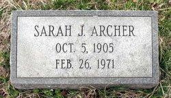 Sarah J. Archer