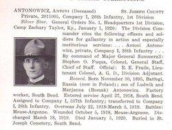 Pvt Antoni Antonowicz
