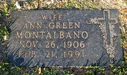 Ann <I>Green</I> Montalbano