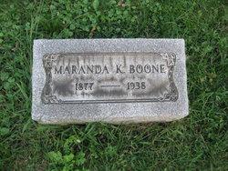 Marand Knight Boone