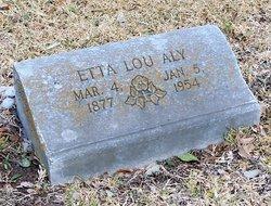 Etta Lou <I>Edmondson</I> Aly