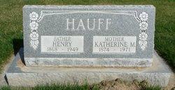 Henry Hauff