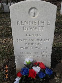 """Sgt Kenneth E """"Kent"""" DeWalt"""
