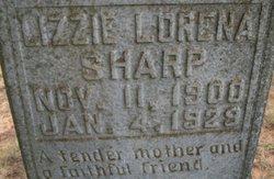Lizzie Lorena <I>Dixson</I> Sharp