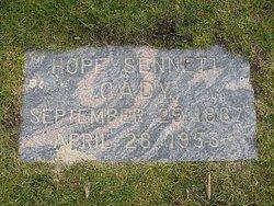 Hope <I>Sennett</I> Cady