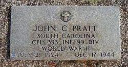 Corp John Charles Pratt