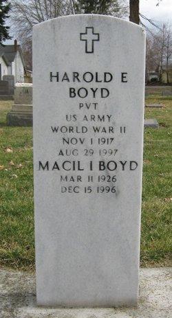 Macil Irene <I>Bly</I> Boyd