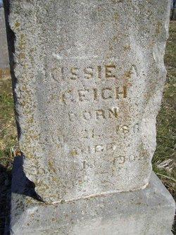 """Kisiah A. """"Kissie"""" <I>Jones</I> Reich"""