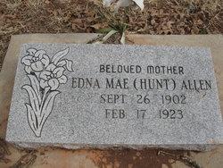 Edna Mae <I>Hunt</I> Allen