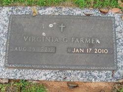 Virginia G Farmer