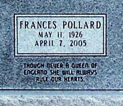 Frances <I>Pollard</I> Brooks