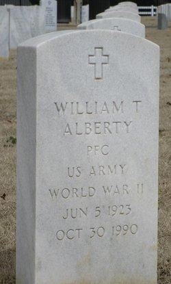 William T Alberty