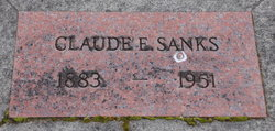 Claude Everett Sanks