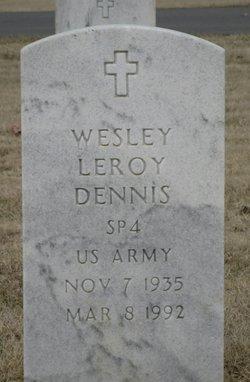 Wesley L Dennis