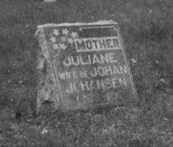 Juliane <I>Hansen</I> Johansen