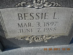 Bessie Lee <I>Lunsford</I> Hunter