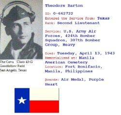 2LT Theodore Barton