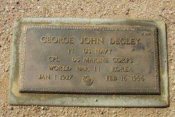 George John Degley