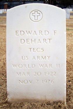 Edward F Dehart