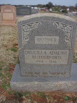 Drucilla Adaline <I>Barnwell</I> Rutherford