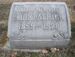 Ada F. <I>Sharp</I> Kirkpatrick