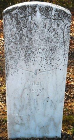 Pvt John A. Alton