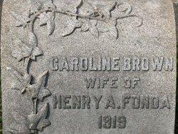 Caroline Louisa <I>Brown</I> Fonda