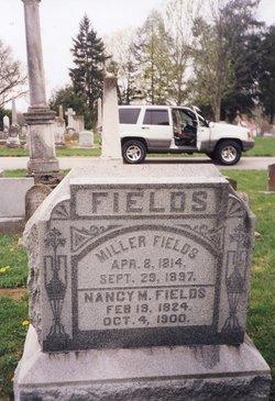 Nancy <I>Hall</I> Fields