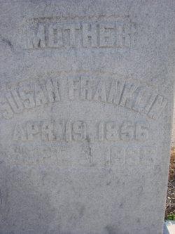 Susan <I>Bland</I> Franklin