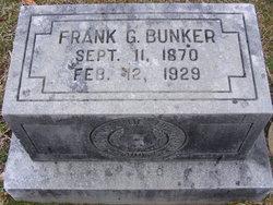 Frank G Bunker