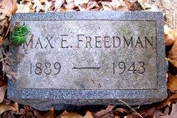 Max E. Freedman