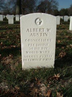 PFC Albert W Austin