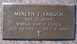 """Merlyn Thomas """"Woody"""" Yaroch"""