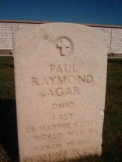 1SGT Paul Raymond Agar