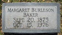 Margaret Alice <I>Burleson</I> Baker