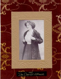 Ida Mae <I>Clawser</I> Althouse