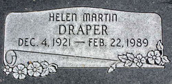 Helen <I>Martin</I> Draper