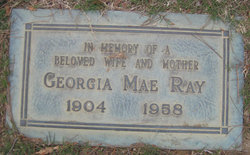 Georgia Mae <I>Tallant</I> Ray