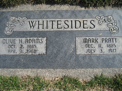 Olive Harriet <I>Adams</I> Whitesides