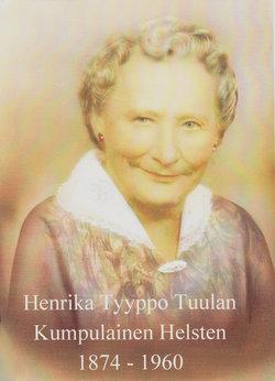Henrietta Thompson Helsten